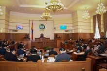 Parliament ratifies the announcement of the 2017 Presidential Election Day of Mongolia
