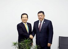 Speaker of the National Assembly of Korea expresses his readiness to assist Mongolia