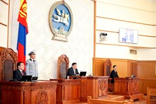 2017 spring session of the State Great Hural (Parliament) of Mongolia has commenced